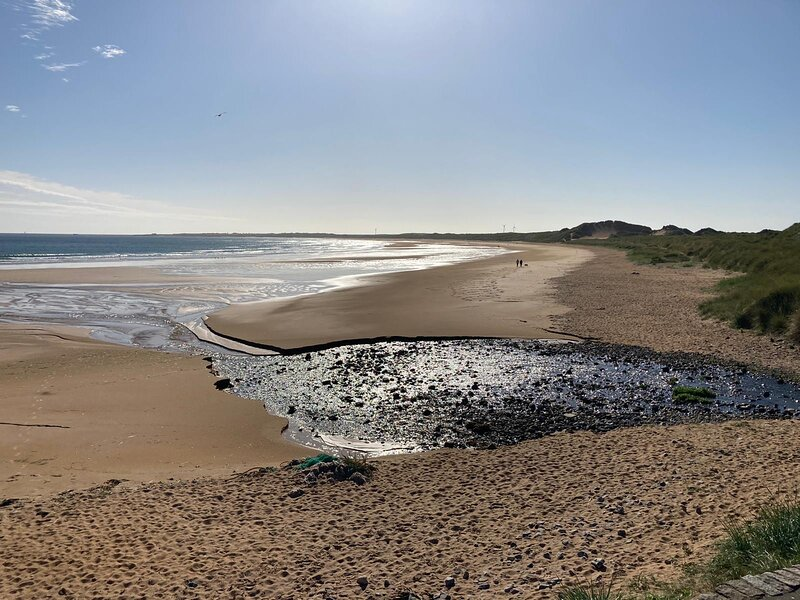 Beautiful Fraserburgh beach & sand dunes