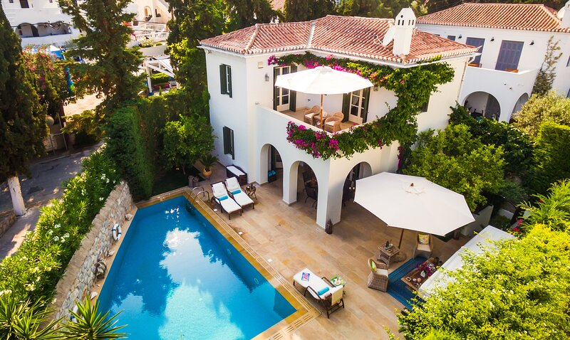 Amazing villa with swimming-pool, holiday rental in Spetses Town