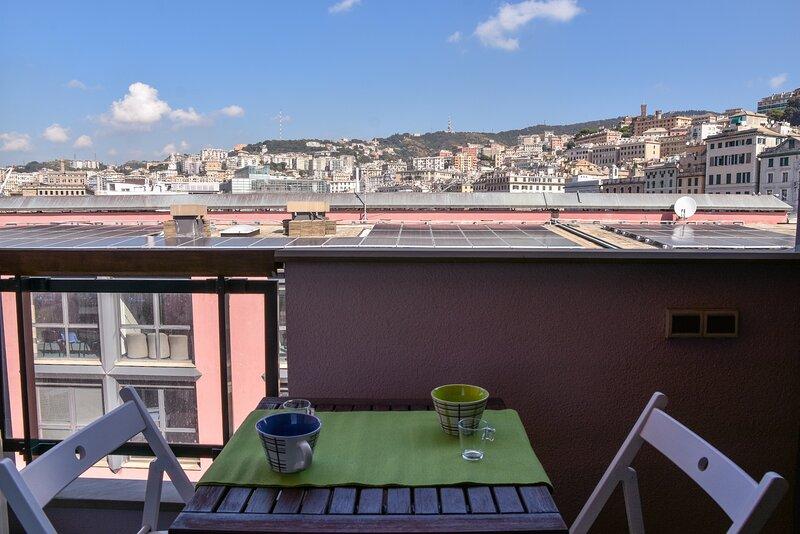 616 Genova - loft al Porto Antico, holiday rental in Neirone