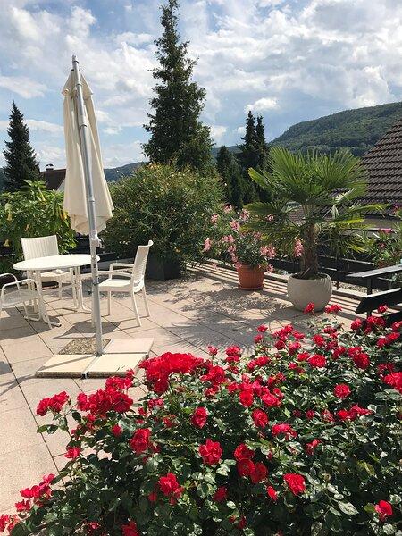 Ferienwohnung mit Terrasse in der Nähe von Nürnberg, vacation rental in Schnaittach