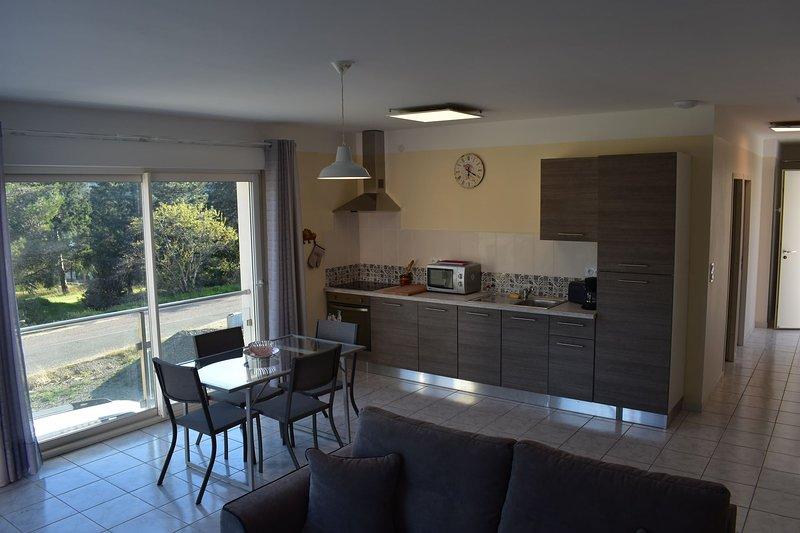 Appartement n°1 plain pied, piscine, holiday rental in Vieussan