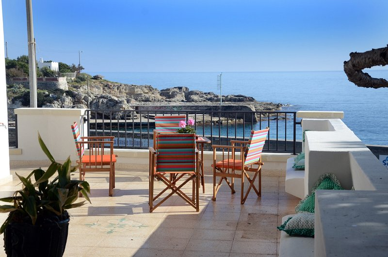 Bianca sul mare 1 & 2, holiday rental in Marina Serra
