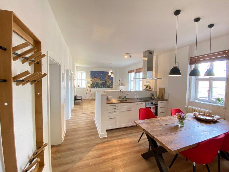 Ferienappartement 'Gräfin Anna' in der Hinterburg Schlitz, vacation rental in Fulda
