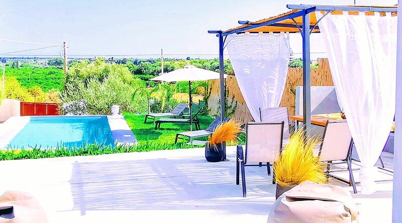 L'Eremita Villa con piscina, holiday rental in Piccio
