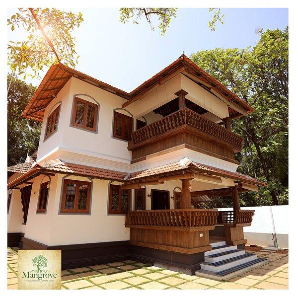 Mangrove Heritage Home Chendamangalam, holiday rental in Kochi (Cochin)