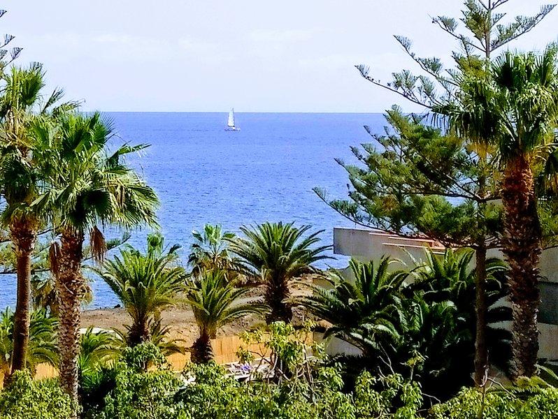 Apartment in Alborada with ocean view, holiday rental in Las Galletas