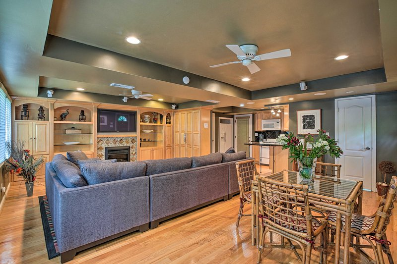 NEW! Quiet Studio with Oasis - 10 Mi to the City!, vacation rental in Doraville