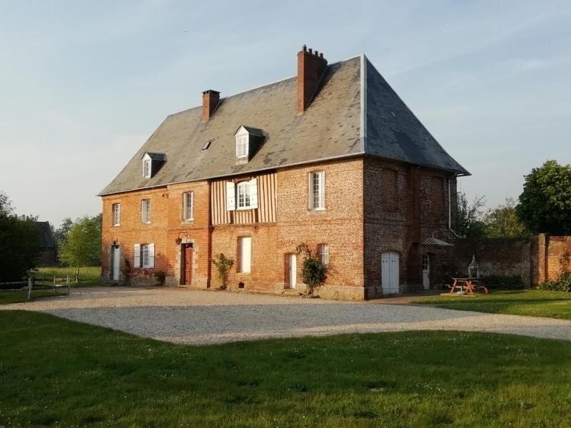 La Ferme Manoir, casa vacanza a Bosc-le-Hard