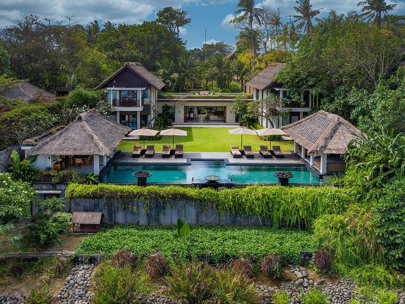 Seseh Beach Villa I - Aerial shot