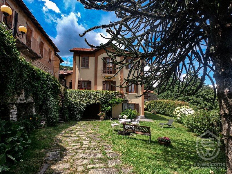 Easy Welcome Villa Margherita, holiday rental in Magreglio