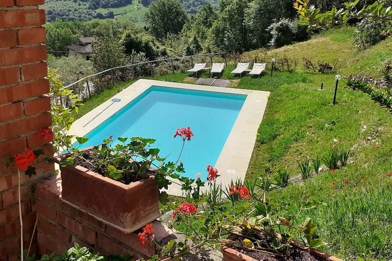 Nice apartment with shared pool, holiday rental in Donnini