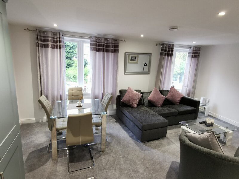 Spacious Apartment Near Uni and City Centre with Parking and Wifi, alquiler vacacional en Gosforth