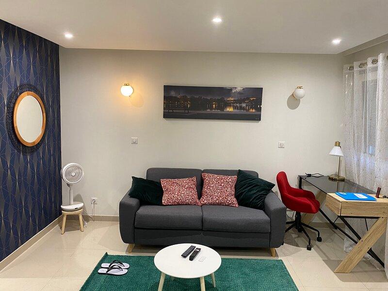 Studio chaleureux (Luxe, Charme et caractère) - Metz Logouest, holiday rental in Ottonville
