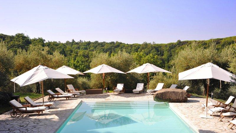 Luxury villa I Palazzi, holiday rental in Perugia
