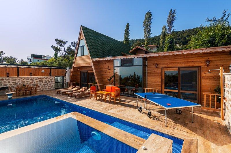 Villa By Gurhan Luxury Private Villa With Seaview, Indoor pool, Table tennis, casa vacanza a Islamlar