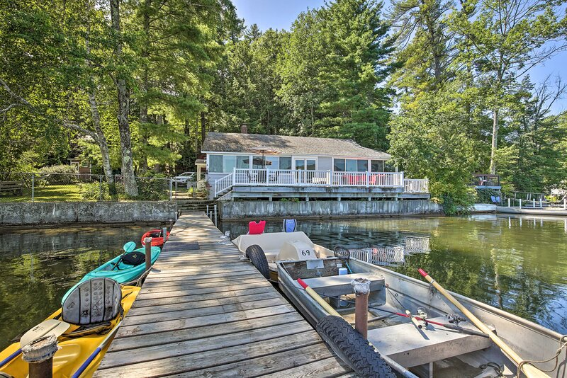 Pet-Friendly Berkshires Home w/Dock & Fire Pit!, holiday rental in Monterey