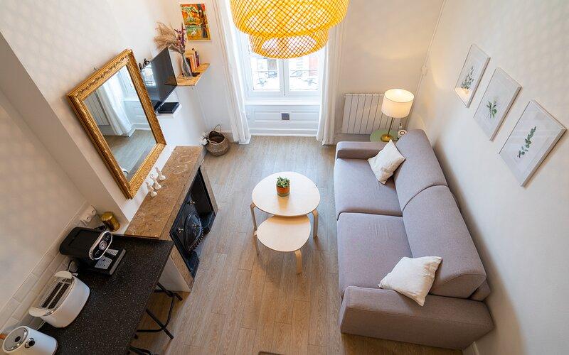 La casa d'Elise - Petit cocon à Villeurbanne, holiday rental in Bron