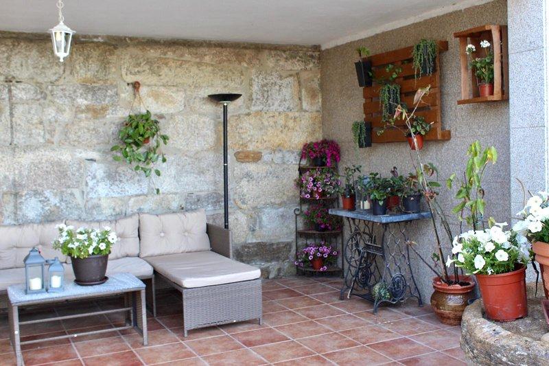 Casa Padin, alquiler de vacaciones en A Lanzada