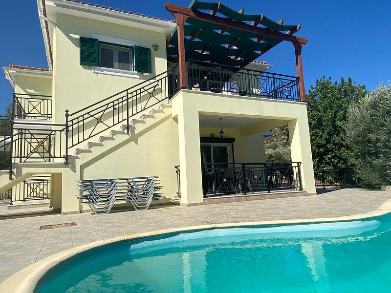 Villa Aristarchos, holiday rental in Paleokastro