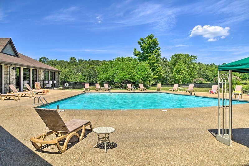 Soak up the sun next to the community's outdoor pool!