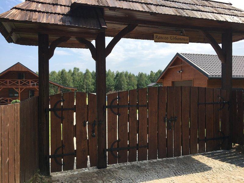 Ranczo Urbanowo, vacation rental in Brodnica