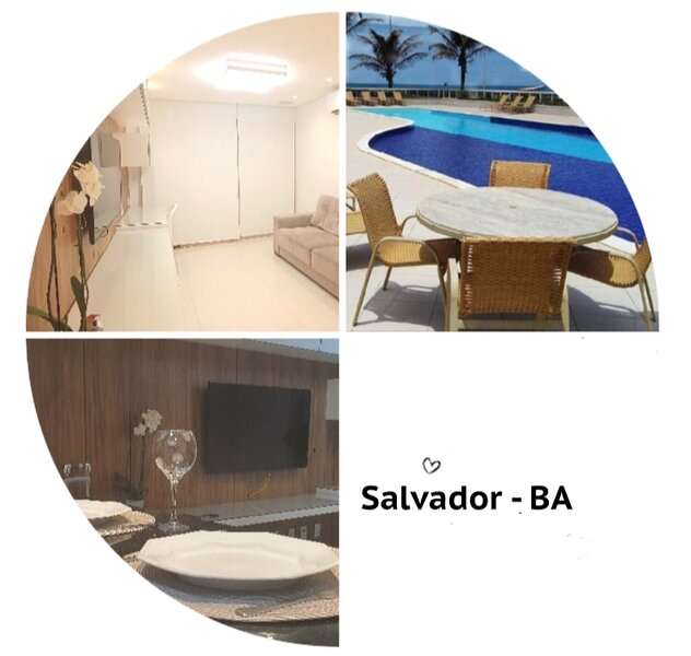 Requinte à beira-mar, alquiler de vacaciones en Salvador