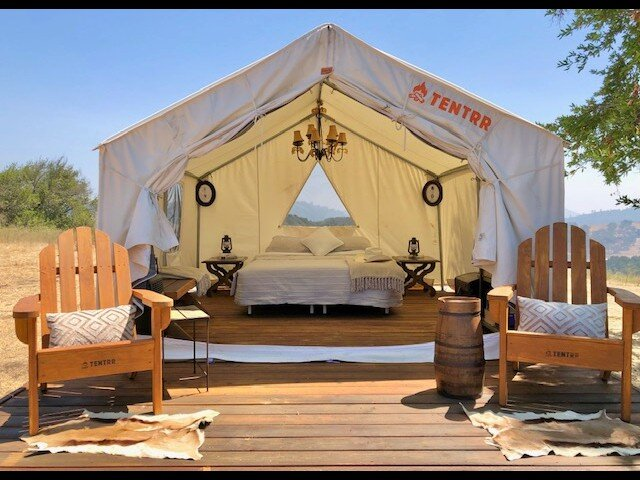 Tentrr Signature Site - Tule Ranch Deluxe Campsite, vacation rental in Morgan Hill