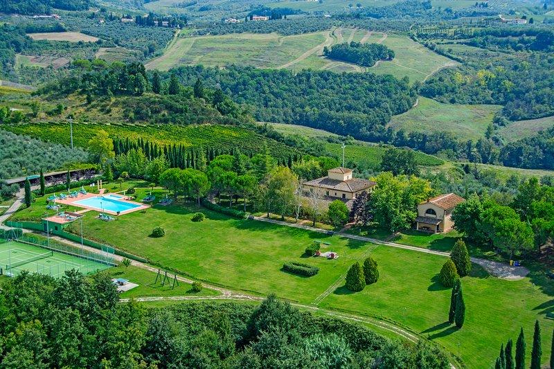 Villa Panconesi 'Contadino', holiday rental in Trecento