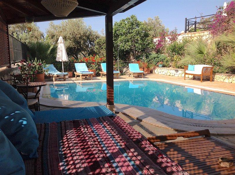 Villa Kismet  - Central location, spacious and charming., holiday rental in Kalkan