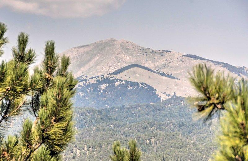Enjoy the mountain views!