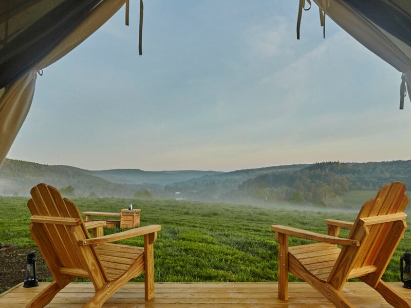 Tentrr Signature Site - Orchard Camp at Greenane Farms, vacation rental in Bloomville