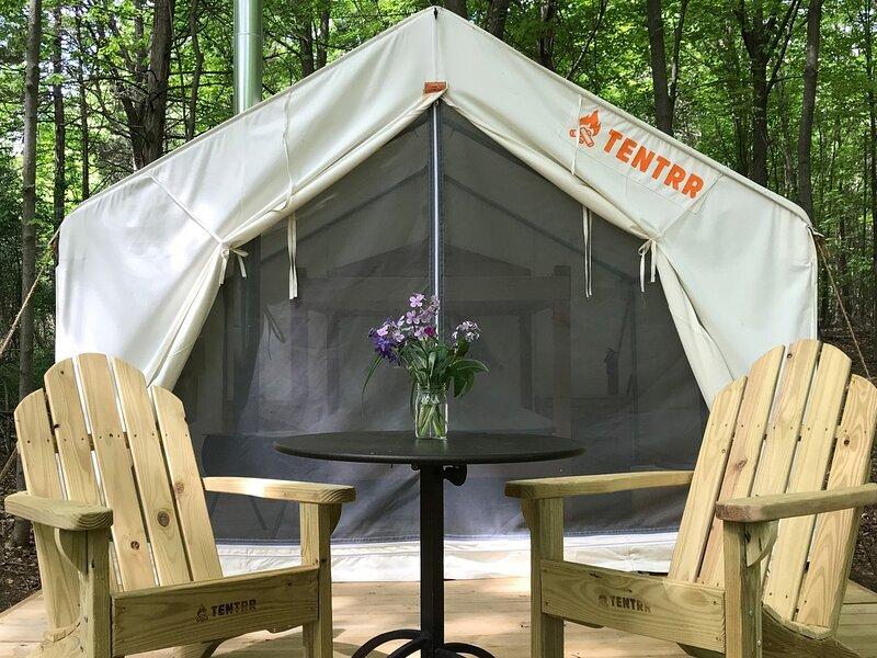 Tentrr Signature Site - Tivoli Trails, alquiler de vacaciones en Red Hook