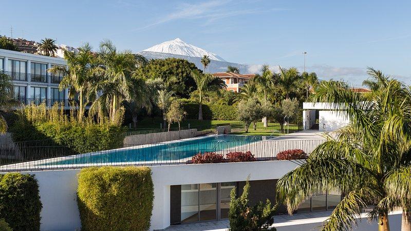 Apartamento de diseño vanguardista con vistas al Teide, holiday rental in La Victoria de Acentejo