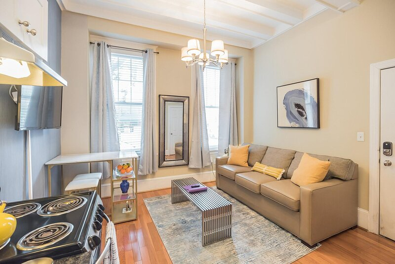 RITTENHOUSE SQUARE 1F, HISTORIC APT IN CENTER CITY, location de vacances à Palmyra