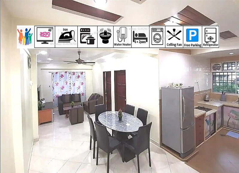 THE ONE Highlands Apartment, vacation rental in Kampar District
