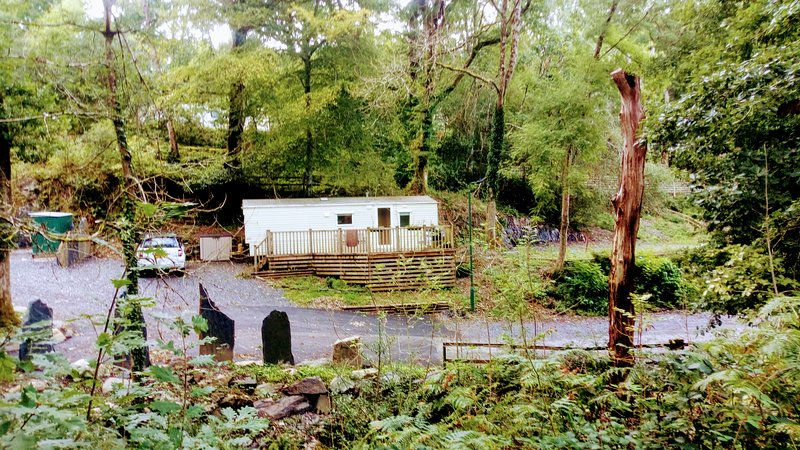 Snowdonia National Park, lovely woodland location, holiday rental in Prenteg