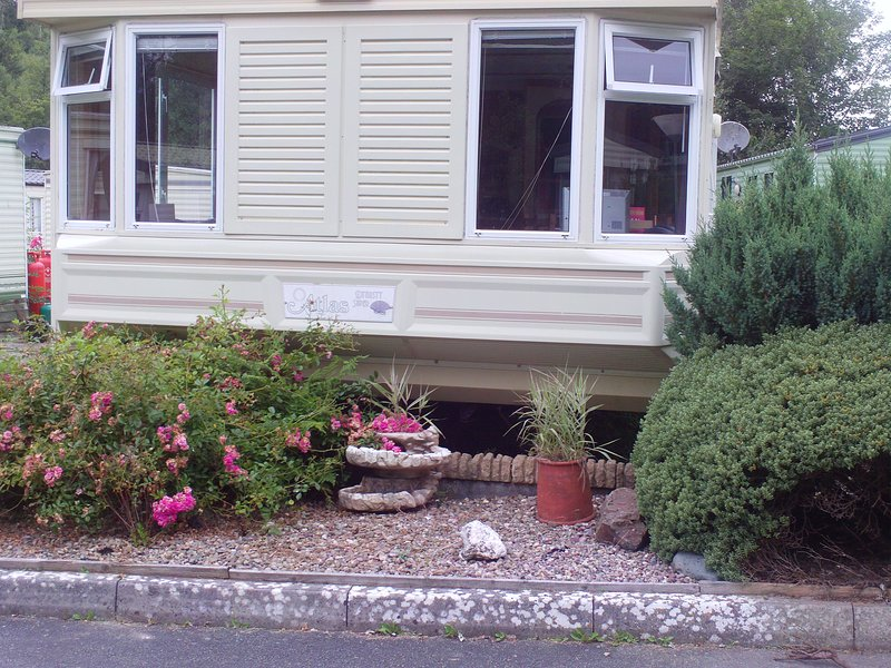 3 BEDROOM MOBILE HOME SOUTH WALES NEAR CARDIGAN, location de vacances à Clydey