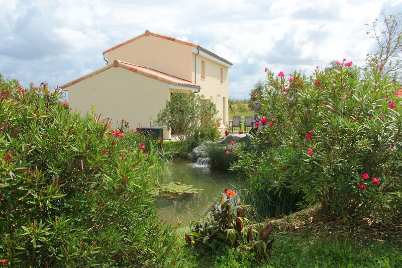 L'Atelier de la Cascadeta, location de vacances à Rieux-Volvestre