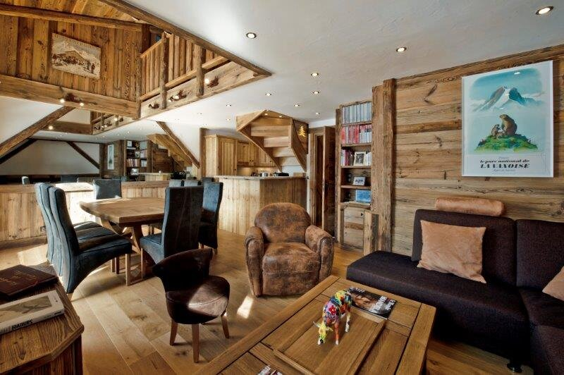Chalet Nimisa - 4★ Stunning family duplex in Méribel with a view by the slopes!, vacation rental in Meribel Mottaret