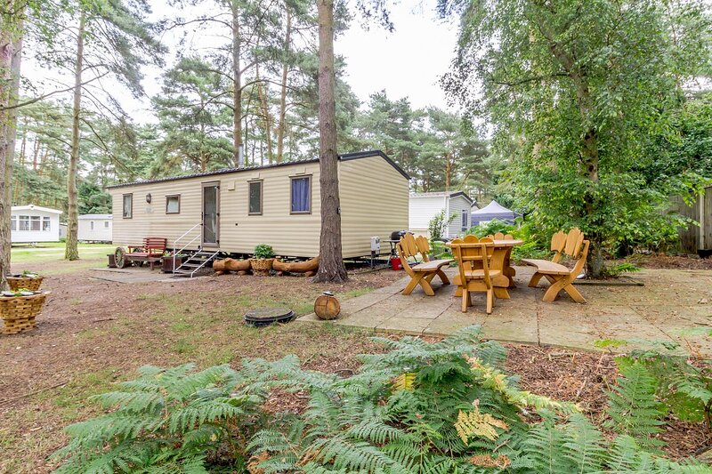 8 berth caravan for hire in a prime spot at Wild Duck Haven Norfolk ref 11266GC, location de vacances à Fritton