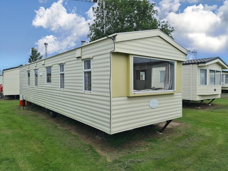 8 berth caravan for hire at Sunnydale park Lincolnshire Skegness ref 35007S, Ferienwohnung in Saltfleet