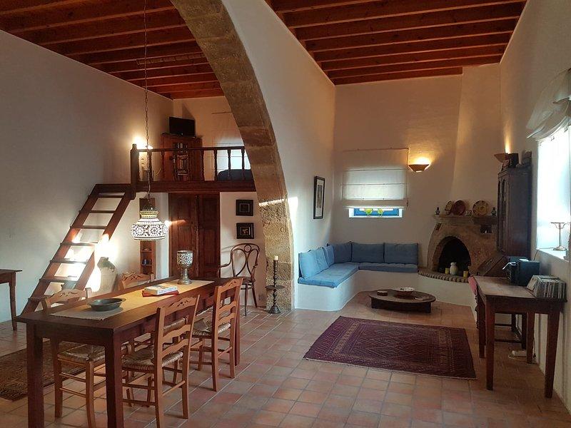Mühlenhaus Lachania, vacation rental in Rhodes