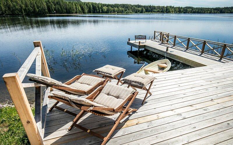 Hugsnäset semesterstugor och fiske – semesterbostad i Jämtland and Härjedalen