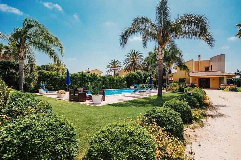 Villa Tiffany - Marsala, alquiler de vacaciones en Lido Signorino