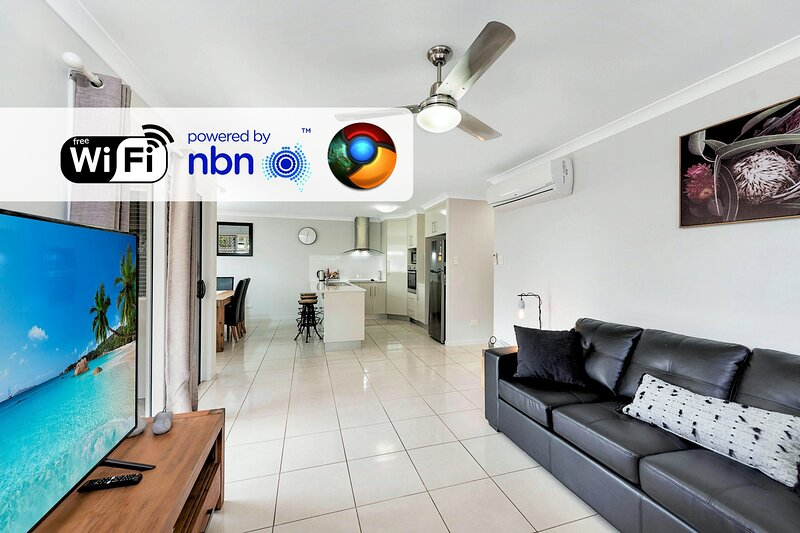 Mod Cons on Mulgrave! Making your stay stress free!, vacation rental in Burnett Heads