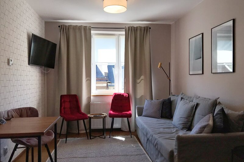 Bright and cozy apartment in the historic part of the Old Town, holiday rental in Trojanowice