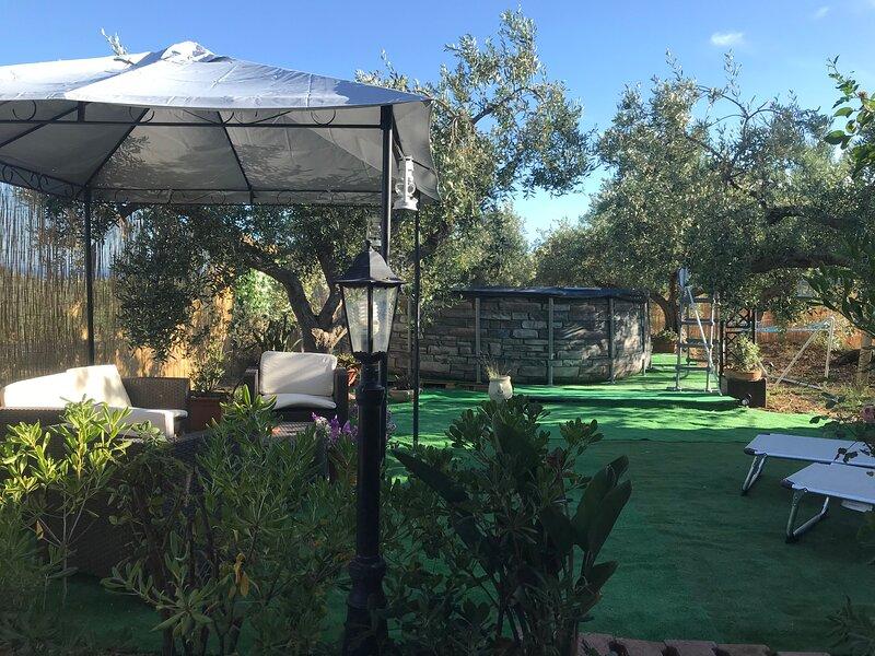 La casetta degli ulivi con piscina, holiday rental in Santa Margherita di Belice