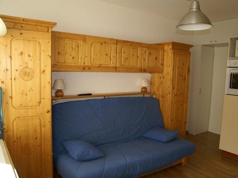 Studio cabine au pied des pistes résidence Cottepens, holiday rental in Prapoutel
