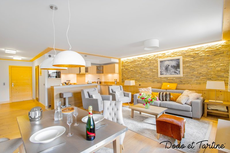 Luxury flat at the foot of slopes Courchevel 1550 - Dodo et Tartine, holiday rental in Saint-Bon-Tarentaise