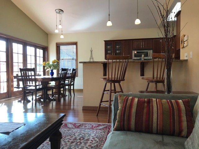 Family Room, Open Concept, High Ceilings